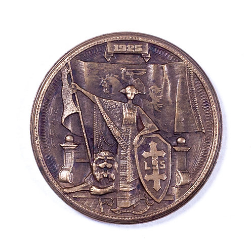 Lithuania, Medal for 20th Anniversary of the Great Congress of Vilnius (1905)