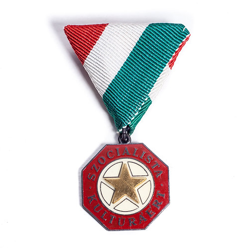Hungarian Medal for Socialist Culture