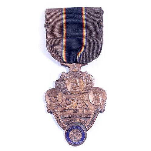 American Legion 12th National Convention Medal, Boston 1930