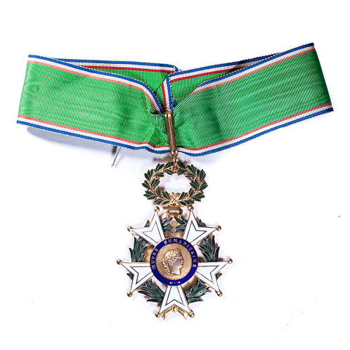 French Civil Order of Humanitarian Works, Commander's Grade.