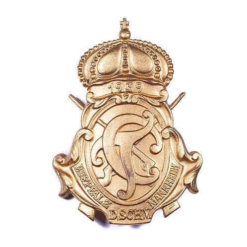 WWII German Deutscher Schützenverband Badge, Kurpfalz Mannheim 1939