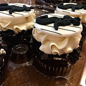 White Sox Cupcake toppers sitting tough
