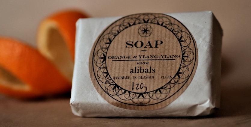 Orange & Ylang-ylang Soap