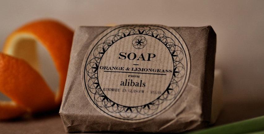 Orange & Lemongrass Soap