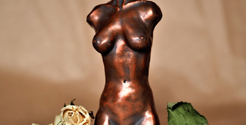 Bronze Aged Statue Candles