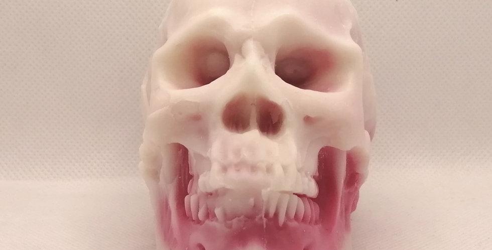 Discounted Bleeding Skull Candles