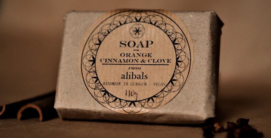 Orange, Cinnamon & Clove Soap