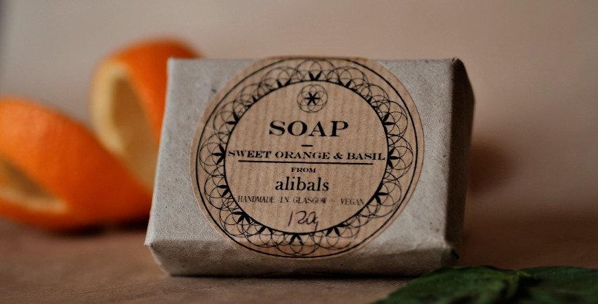 Orange & Basil Soap