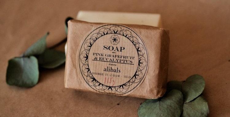 Pink Grapefruit & Eucalyptus Soap