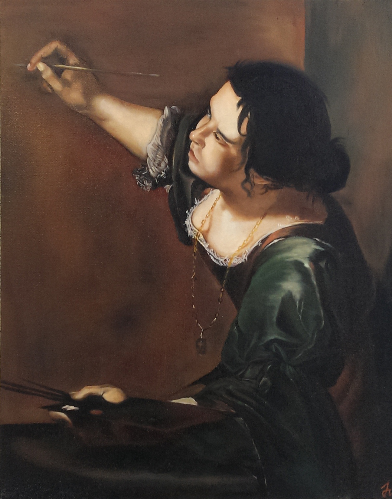 Self-Portrait as the Allegory