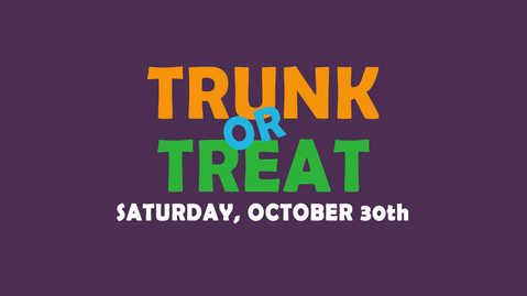 Trunk or Treat Project Serve