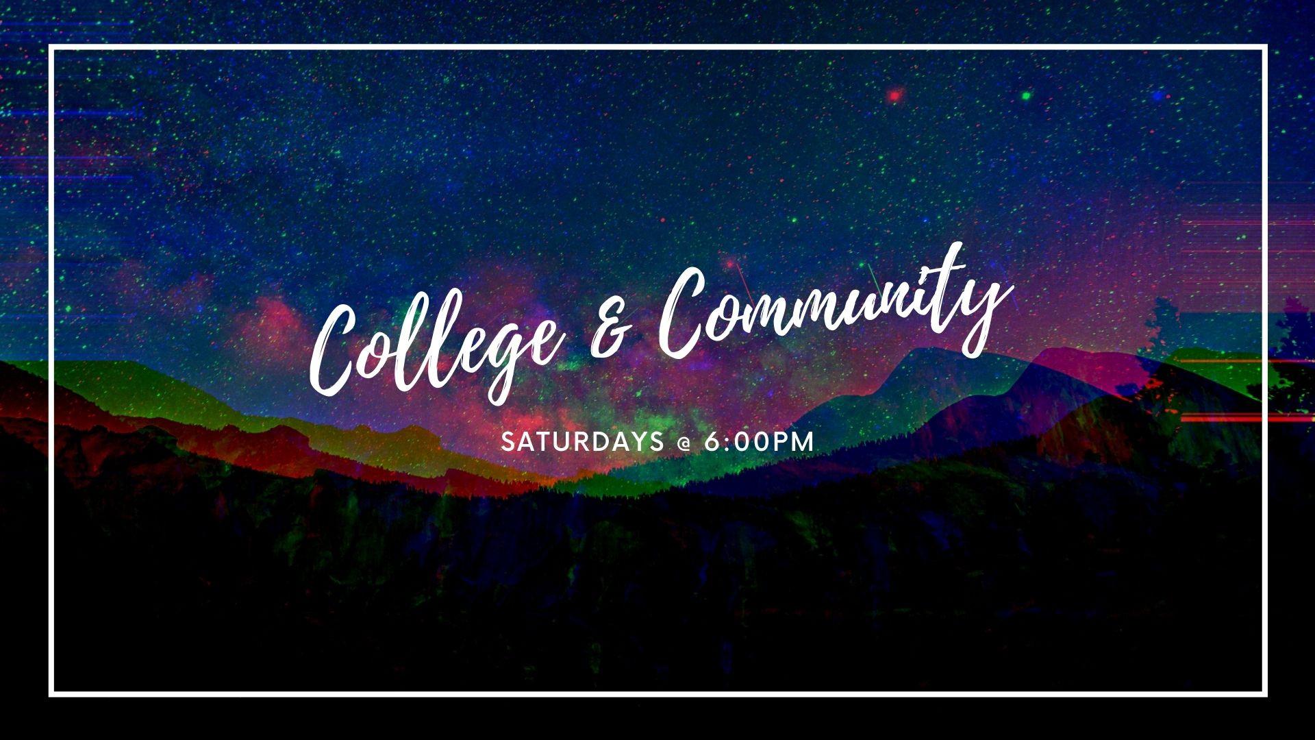 College & Community