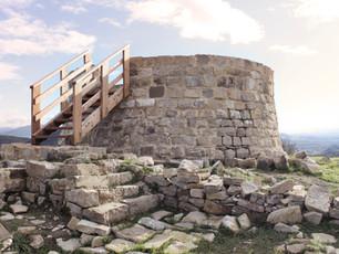 consolidación castillo de garaño