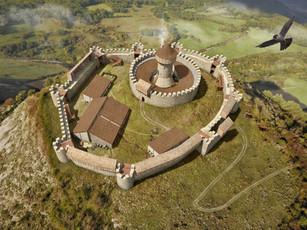 castillo de garaño