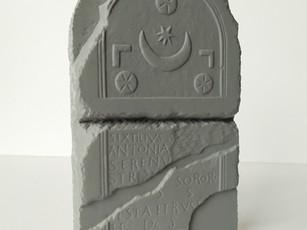 impresión 3d estela romana labrit, pamplona