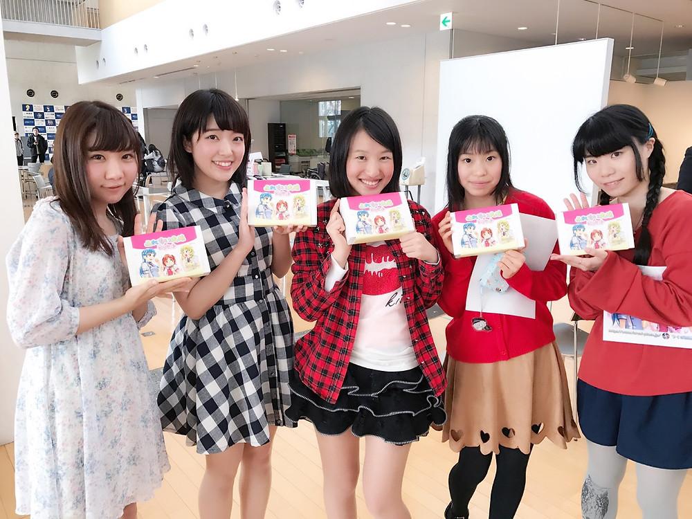 「志ち乃」さんとのコラボどら焼きはイベントにて発売されました。