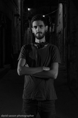 Outdoor photography DJ