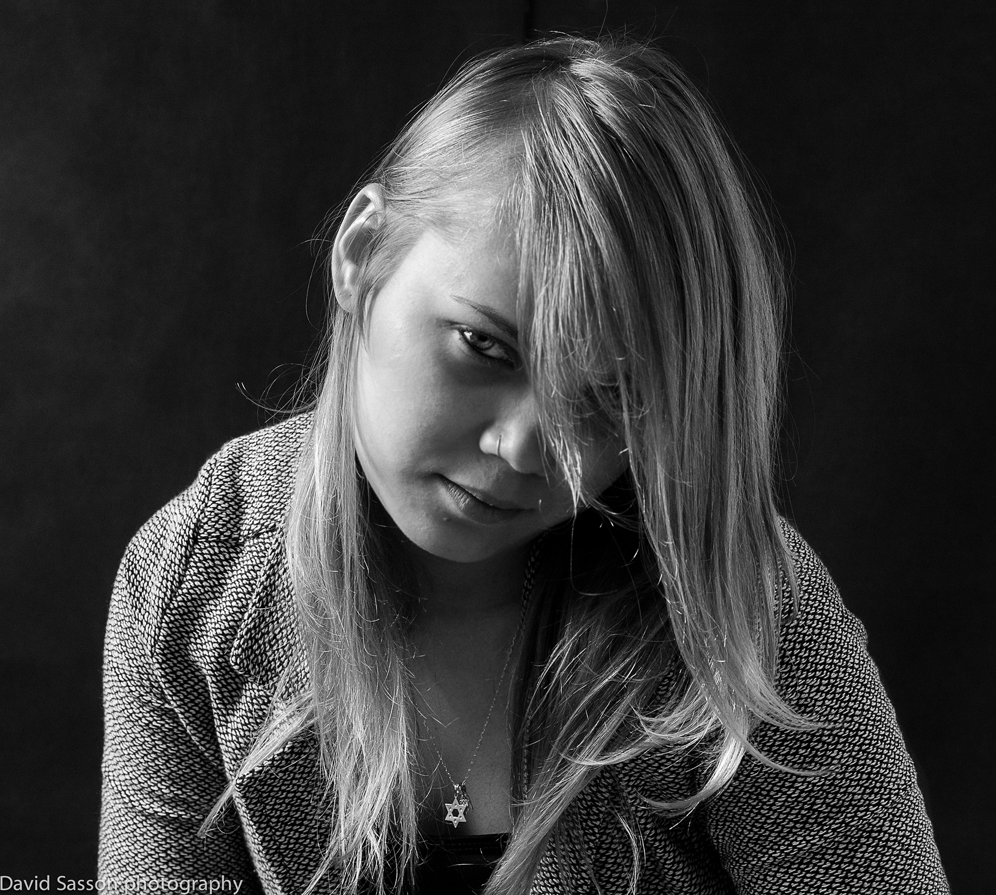 Studio portrait for katya