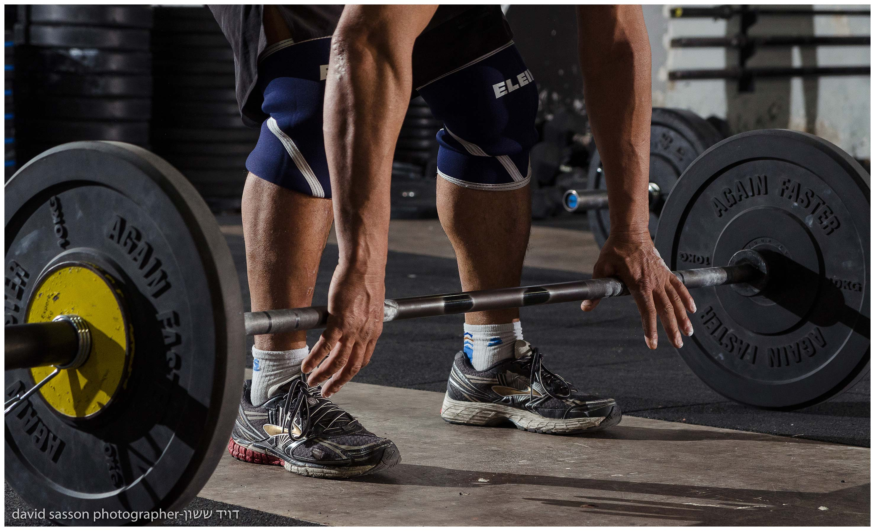 Advertising photography for CrossFit training