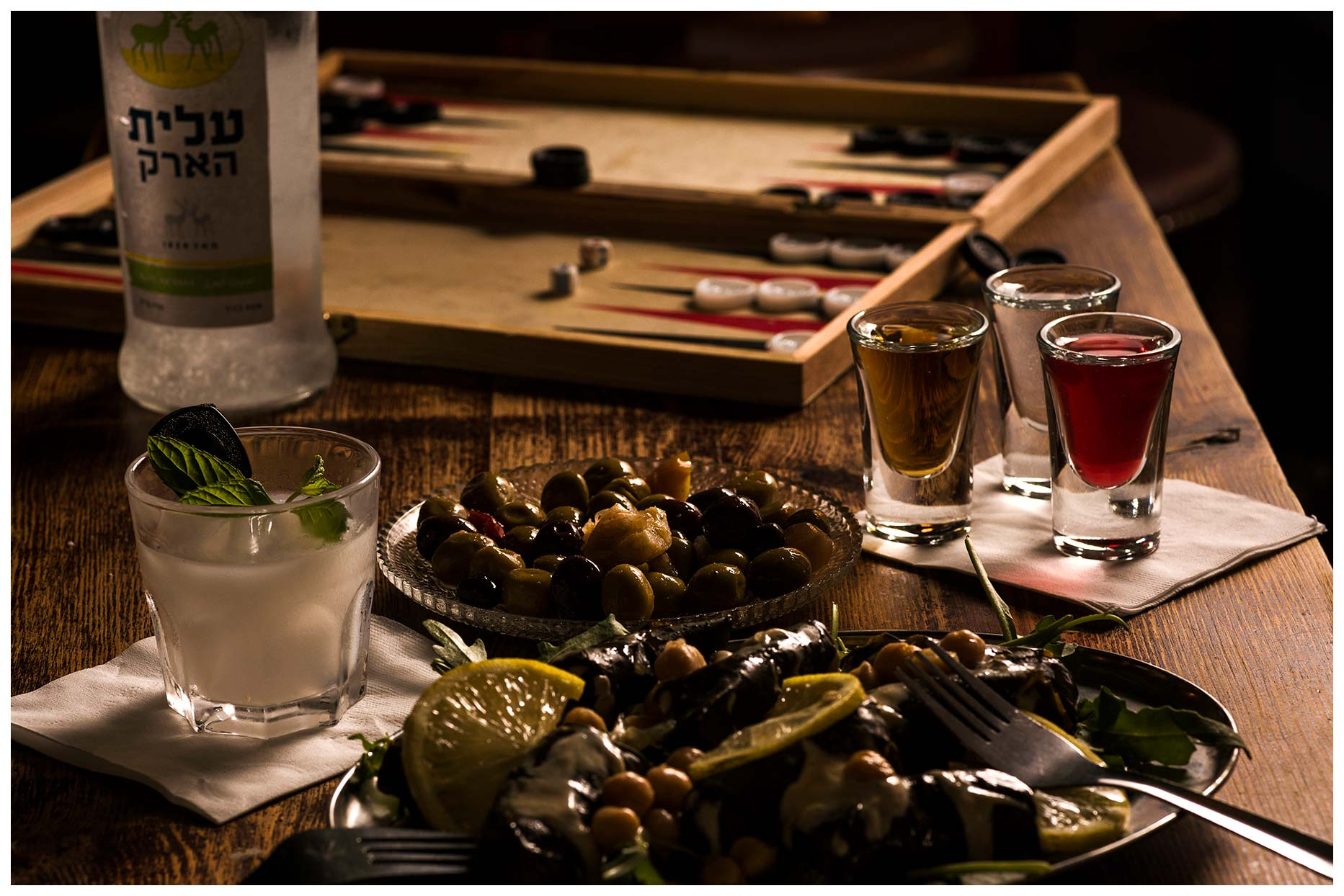 Food photography and ambience for the shuffle  Bar
