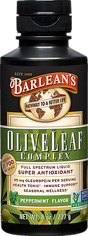 Barlean's Olive Leaf Complex - Peppermint Flavor