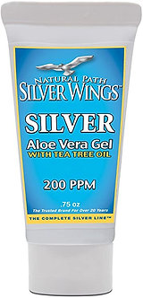 Silver Wings Silver Aloe Vera Gel with Tea Tree Oil