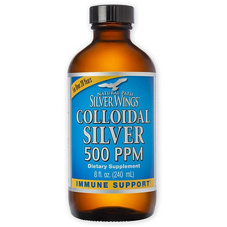 Silver Wings Colloidal Silver 500ppm