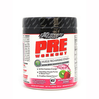 Bluebonnet Extreme Edge Pre-Workout Strawberry Kiwi