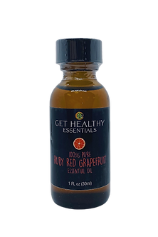 Get Healthy Ruby Red Grapefruit Essential Oil