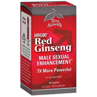 Red Ginseng (HRG80™) Male Sexual Enhancement