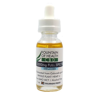 Fountain of Health CBD Oil 2000mg