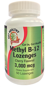 Get Healthy Methyl B-12 Lozenges 50ct