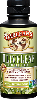 Barlean's Olive Leaf Complex - Natural Flavor