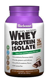 Bluebonnet Whey Protein Isolate 2lbs