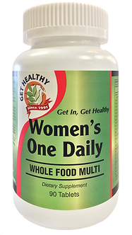 Get Healthy Women's One Daily Multivitamin 60ct