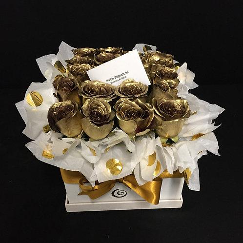 GOLDEN Roses Box