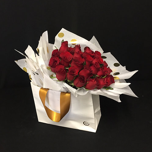 SPECIAL Red Roses Bag