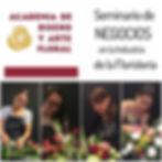 Clases de Diseño Floral para Negcio en linea, Cursos de Diseño Floral On-Line, Clases en linea, cursos en linea