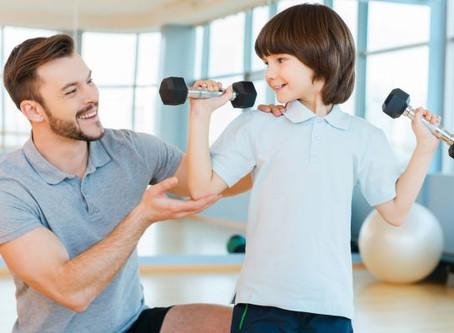 Musculação na infância: mitos e verdades