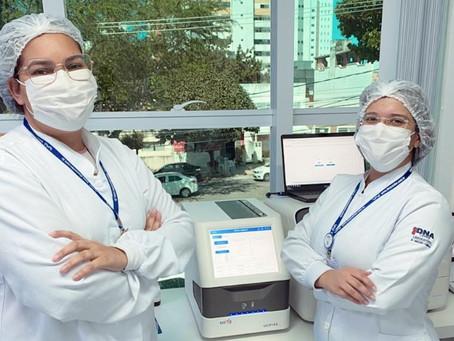 Com mais rapidez e mesma segurança, DNA Center libera resultado de exame PCR para covid em apenas 3h