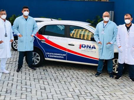 DNA Center oferece segurança e comodidade com serviço de coleta domiciliar para exames