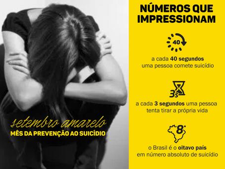 Setembro amarelo: a importância de falar sobre prevenção de suicídio