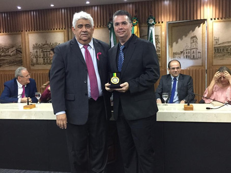 Diretoria do DNA Center recebe homenagem na Câmara Municipal de Natal