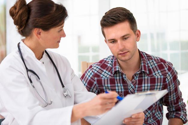 Preparo biopsia de próstata