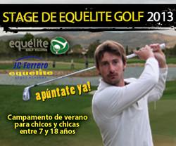 Banner Stage de golf Equelite
