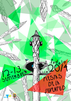 Cartel Fiestas de la Juventud 2014