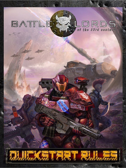 Battlelords of the 23rd Century, QUICK-START GUIDE (PDF)