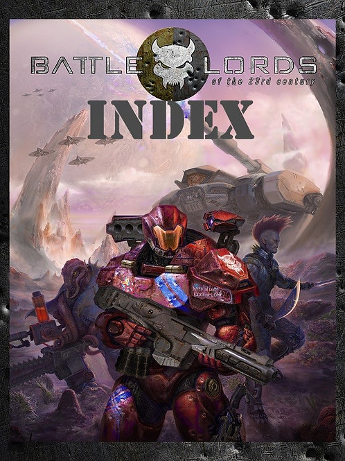 Index for Battlelords of the 23rd Century, 7th Edition
