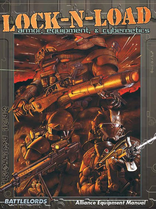 Lock 'N' Load: Armor, Equipment, & Cybernetics (For 6th Edition) (PDF)