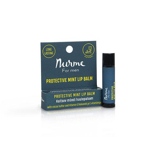 Schützender Lippenbalsam mit Vitamin für Männer / Nurme